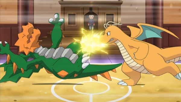 Pokemon Best Wishes Season 2 Iris Vs Ibuki Dragon Master E No Michi