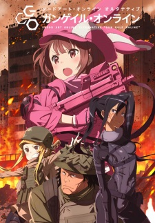 Sword Art Online Alternative Gun Gale Online Dub